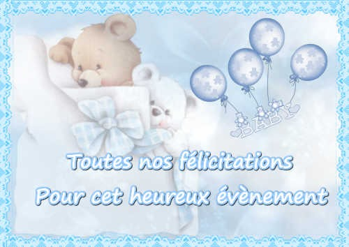 Cartes Félicitations Naissance Balades Comtoises