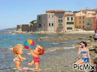 vacance à la plage