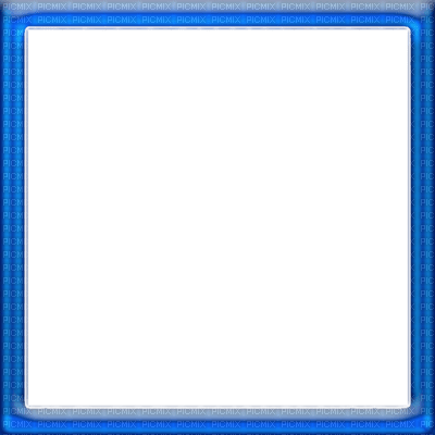 blue square frame