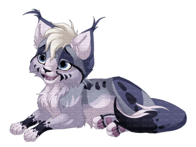 Lynx violet animal animaux manga picmix - Animaux manga ...