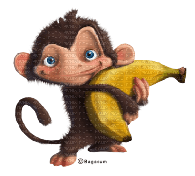 Cecily dessin singe banane picmix - Singe a dessiner ...