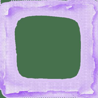 Torn Paper Transparent Frame Purple 169 Esme4eva2015 Torn