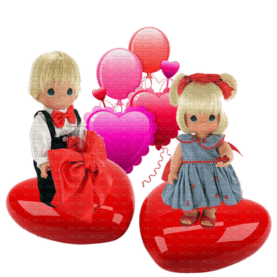 Kaz_Creations Cute Dolls Love Hearts Valentine's