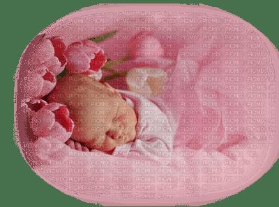 baby pink sleeping