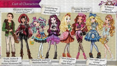 ever after high, personnages - PicMix