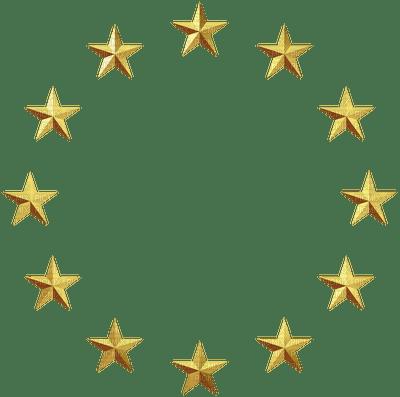 Kaz Creations Stars Gold Circle Picmix