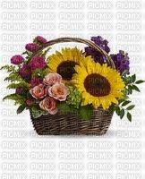 fleurs mage bouquet bon anniversaire tournesol