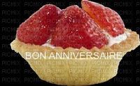 image encre gâteau pâtisserie tarte bon anniversaire edited by me