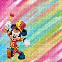 image encre couleur anniversaire Mickey Disney pastel arc en ciel edited by me
