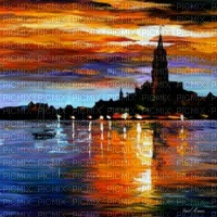 loly33 fond painting paysage