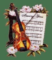 fleur violon.