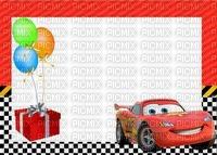 image encre couleur bon anniversaire effet voiture Disney edited by me