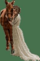 femme & cheval