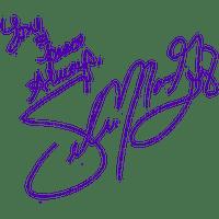Signature de Selena Gomez
