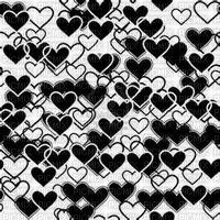coeur noir et blanc picmix