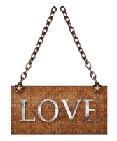 Kaz_Creations Deco Love Sign Notice