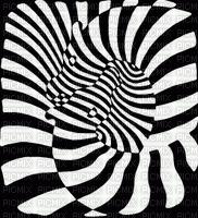 hypnotic Black White colors art