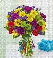 fleurs image bouquet bon anniversaire