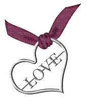 Kaz_Creations Deco Ribbons Bows Heart Love Hanging Dangly Things  Colours