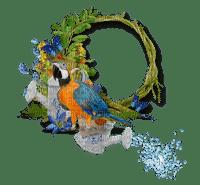 Kaz_Creations Deco Circle Frames Frame Bird Parrot
