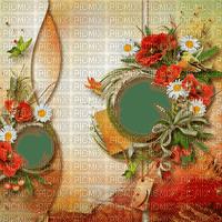 Cadre-frame-background-spring-Blue DREAM 70- printemp-TUBE-Blue DREAM 70c