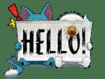 Happy et Plou Hello