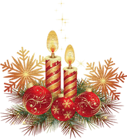 Bougie Joyeux Noël