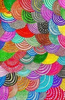 multicolore art image rose bleu jaune multicolored color kaléidoscope kaleidoscope effet encre