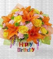fleurs mage bouquet bon anniversaire