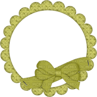 Kaz_Creations Deco Ribbons Bows Circle Frames Frame Colours