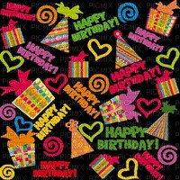 image ink happy birthday gifts heart texture color edited by me