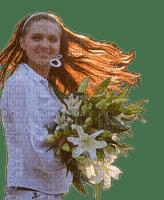Kaz_Creations Woman Femme Girl  Flowers