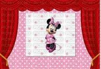 image encre couleur  anniversaire effet à pois Minnie Disney rideaux  edited by me