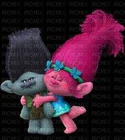 image encre couleur Trolls bon anniversaire  edited by me