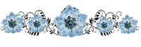 barre fleurs/ HD