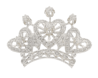 Kaz_Creations White Deco Colours Crown