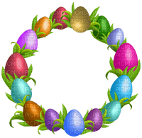 Kaz_Creations Deco Easter Circle Frames Frame