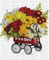 fleurs image bouquet it's a girl