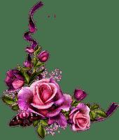 Coin rose mauve-violet et rose