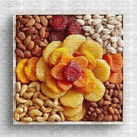 image encre dried fruit