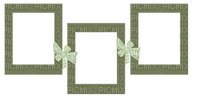 Kaz_Creations Green Deco Colours Ribbons Bows Frames Frame