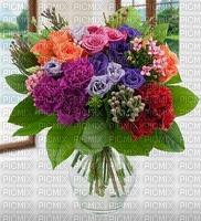image encre happy birthday fleurs bouquet
