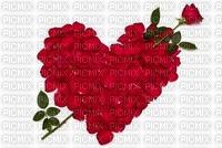 image encre coeur fleurs je t'aime edited by me