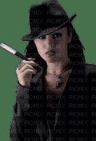 Kaz_Creations Woman Femme Smoking Cigarette