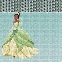 image encre bon anniversaire couleur bon anniversaire princesse Tiana Disney robe effet  edited by me