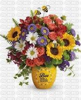 fleurs mage bouquet guérissez bientôt ivk ink