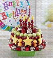 image encre fruit fraises ballon