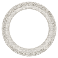 Kaz_Creations White Deco Colours Circle Frames Frame