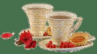 image encre tasse déjeuner gâteau pâtisserie  effet café fleur edited by me