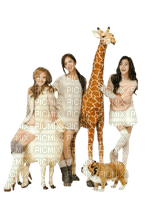 Kaz_Creations Woman Femme Friends Dog Pup Giraffe